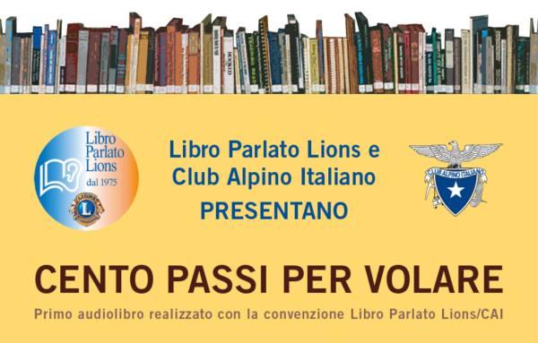 GLI AUDIOLIBRI DEL CLUB ALPINO ITALIANO