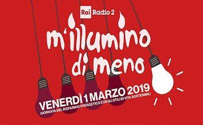 """IL COMUNE ADERISCE A """"M'ILLUMINO DI MENO"""""""