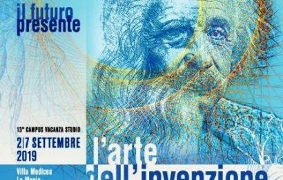 il futuro presente 2019. L'ARTE DELL'INVENZIONE. DA LEONARDO AD EINSTEIN, CINQUE SECOLI DI CREATIVITÀ SCIENTIFICA
