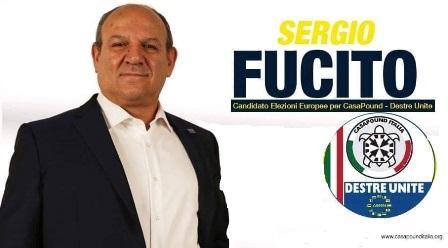elezioni europee. CASAPOUND PRESENTA IL PROGRAMMA CON IL CANDIDATO GEN. SERGIO FUCITO