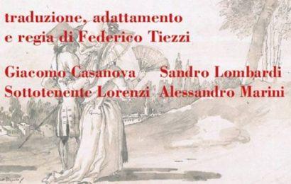 «IL RITORNO DI CASANOVA» AL MASCAGNI DI POPIGLIO