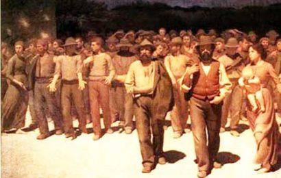 1° maggio. AUGURI, MODERNI SCHIAVI DEL CAPITALE POSTMODERNO DI SINISTRA!