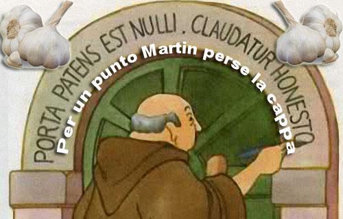 287 voti. LA CAPPA DI MARTINO E ALTRE STORIE