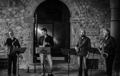 serravalle jazz in tour. ULTIMA TAPPA CON FAT FINGERS SAX QUARTET PLUS TWO