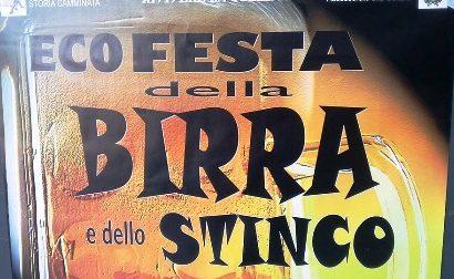 """montemurlo. AD ALBIANO LA FESTA DELLA BIRRA E DELLO STINCO É """"ECO"""""""