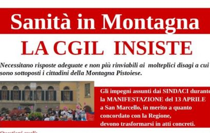 san[t]ità montana. DOCUMENTO CGIL PARTE SECONDA