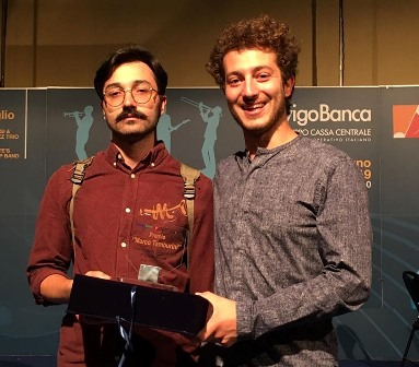 """jazz. JACOPO FAGIOLI E NICO TANGHERLINI CONQUISTANO IL PREMIO """"MARCO TAMBURINI"""""""