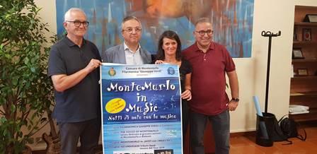 """SU IL SIPARIO SULLA """"MONTEMURLO IN MUSIC"""""""