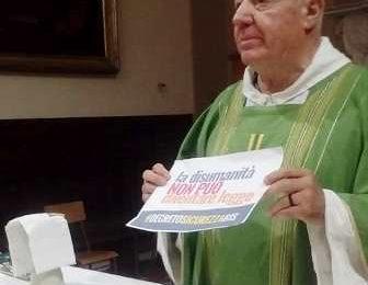"""#decretosicurezzabis. """"LA DISUMANITÀ NON PUÒ DIVENTARE LEGGE"""""""