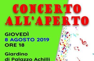 "gavinana. ""CONCERTO ALL'APERTO"""