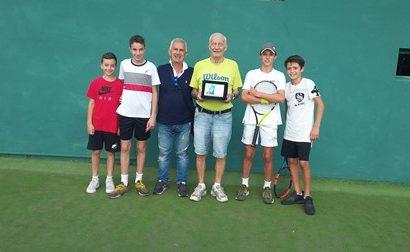 "GRANDE TENNIS AL TORNEO ""M. SABATINI"""