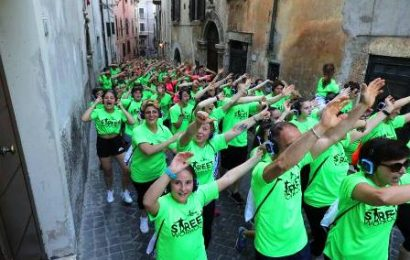 """emozioni in movimento. IL FORMAT OUTDOOR """"STREET WORKOUT"""" ARRIVA A MONTECATINI"""