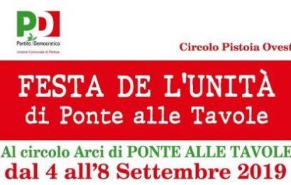 PONTE ALLE TAVOLE, AL CIRCOLO TORNA LA FESTA DE L'UNITÀ