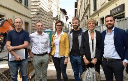 CASSONETTI INTERRATI IN CENTRO STORICO, PARTONO I LAVORI