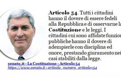 """legalità. I """"PARRUCCONI"""" RIMARCANO IL VALORE DELLA LIBERTÀ DI STAMPA, MA IL SINDACO BETTI DIMENTICA L'ART. 54 DELLA COSTITUZIONE [*]"""