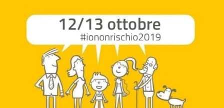 """montemurlo. PROTEZIONE CIVILE, """"IO NON RISCHIO"""" PORTA IN PIAZZA I GRANDI CAMPIONI DELLO SPORT"""