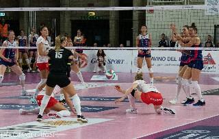 volley. CONTRO IL CUNEO UN BOCCONE DIFFICILE DA DIGERIRE