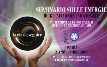 seminario. ENERGIE REIKI E ALCHIMIA EMOZIONALE