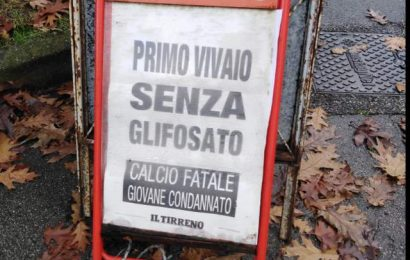 pesticidi. LE SOLITE CIÀCCOLE DA CORTILE IN SALSA SELLINA