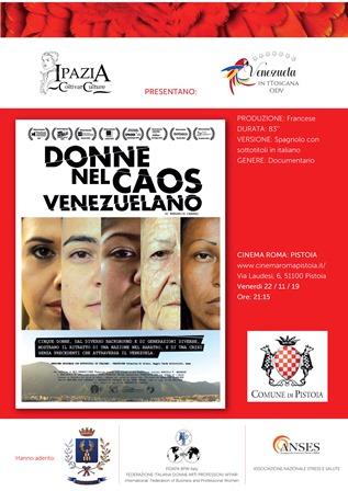 violenza di genere. AL CINEMA ROMA IL FILM DENUNCIA DI MARGARITA CADENAS