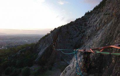 arrampicate. ALLE FALESIE DI MONSUMMANO