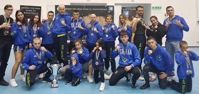 kung fu. NUOVI SUCCESSI PER IL TEAM MARTORANA AL CAMPIONATO ITALIANO