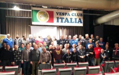 montemurlo. IL VESPA CLUB DONA MILLE EURO ALL'ASSOCIAZIONE AURORA