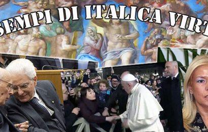 angeli custodi. IL PESCE PUZZA DALLA TESTA E L'ITALIA È IL PAESE DEI PESCI, DELLE SARDINE E DELLA CACCA