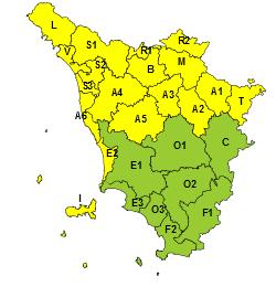nord toscana. PIOGGIA, VENTO E MAREGGIATE