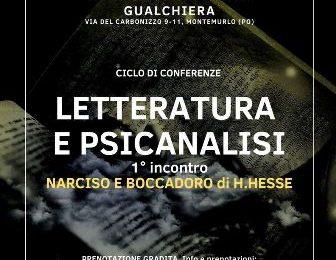 """""""LETTERATURA E PSICOANALISI, NARCISO E BOCCADORO"""", UN NUOVO CICLO DI INCONTRI ALLA GUALCHIERA"""
