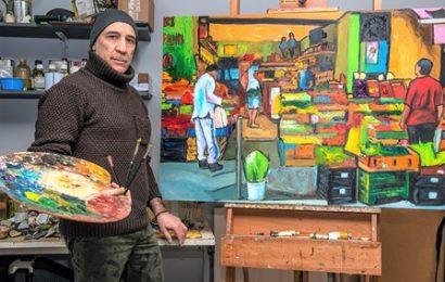pittura. L'ARTISTA PISTOIESE ROBERTO CARRADORI TORNA A ESPORRE IN ITALIA