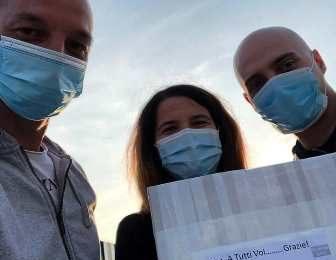coronavirus. TRECENTO MASCHERINE DONATE ALL 'OSPEDALE SAN JACOPO