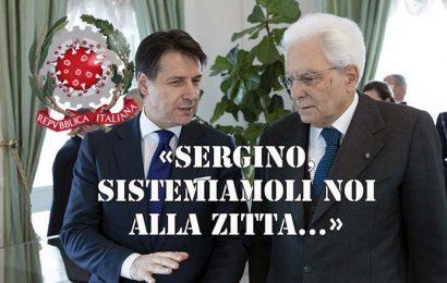 covid-19. REPUBBLICA ITALIANA, UNO STATO GIUSTO E DEMOCRATICO CHE FISSA REGOLE PER GLI ALTRI E PER SÉ LE RIFIUTA