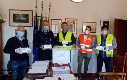serravalle. LA COMUNITÀ ALBANESE HA DONATO 250 MASCHERINE ALLA POLIZIA MUNICIPALE