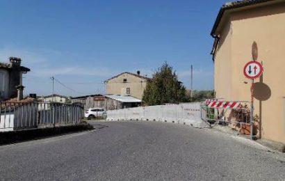 ponte dei carabinieri. CONCLUSI I LAVORI DI MESSA IN SICUREZZA DELLA VIABILITÀ