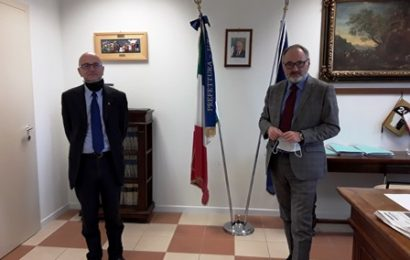 istituzioni. LUCA MARMO INCONTRA IL NEO PREFETTO IORIO GERLANDO