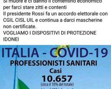 covid-19. «CARO ENRICO ROSSI, TANTI ANNI NELLA SANITÀ E NON HAI ANCORA CAPITO NIENTE!»