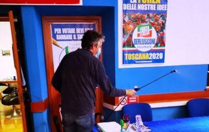 montecatini. RIAPRE LA SEDE PROVINCIALE DI FORZA ITALIA
