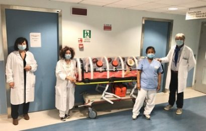 SPES DOCET DONA AL SANTO STEFANO UNA BARELLA A BIOCONTENIMENTO