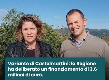 larciano. VARIANTE DI CASTELMARTINI, DALLA REGIONE ARRIVA LA SVOLTA