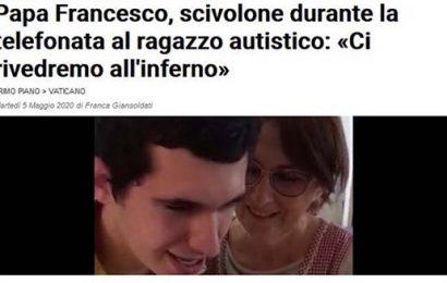 papi. MA FRANCESCO ANDRÀ ALL'INFERNO?