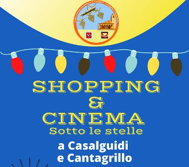 "serravalle. AL VIA ""SHOPPING E CINEMA SOTTO LE STELLE"""