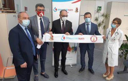 solidarietà in divisa. STRAORDINARIA DONAZIONE DELLE FORZE DELL'ORDINE AL CENTRO TRASFUSIONALE