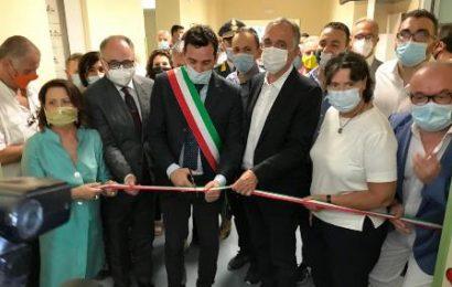 ROSSI E SACCARDI HANNO INAUGURATO I 72 NUOVI POSTI LETTO PER LE CURE INTERMEDIE