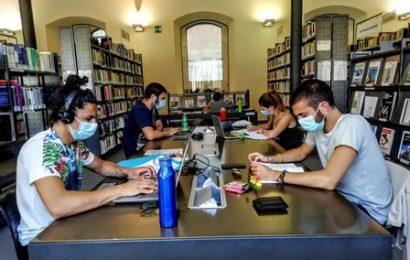 biblioteca lazzerini. DAL 1 SETTEMBRE SI TORNA A STUDIARE IN SALA RAGAZZI