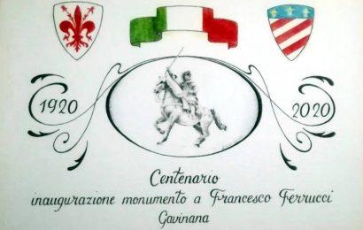 gavinana. IL MONUMENTO DI FRANCESCO FERRUCCI COMPIE 100 ANNI