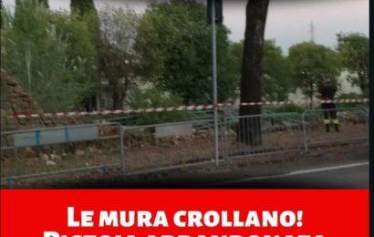 CROLLANO LE MURA, IL PD: PISTOIA E PISTOIESI MERITANO ATTENZIONE E RISPETTO!