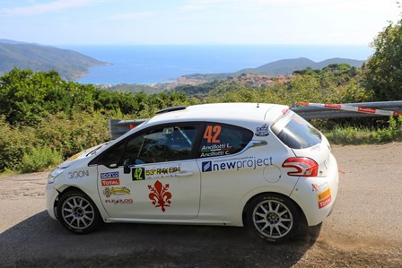"""JOLLY RACING TEAM AL RALLY ELBA: VITTORIA """"DI CLASSE"""" NELLA MANCHE DI CAMPIONATO ITALIANO WRC"""