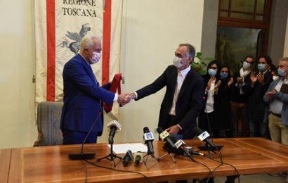 """GIANI SUBENTRA A ROSSI: """"ANNUNCERÒ LA GIUNTA NELLA PRIMA RIUNIONE DI CONSIGLIO"""""""