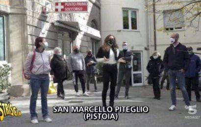 """striscia la notizia. """"MONTAGNA PISTOIESE DA SETTE ANNI SENZA PRONTO SOCCORSO"""""""
